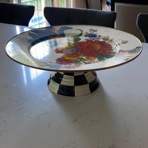 Mackenzie Child's Flower Market Pedestal Platter!